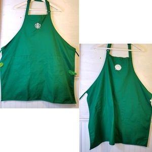 Starbucks, Embroidered, Barista Green Apron